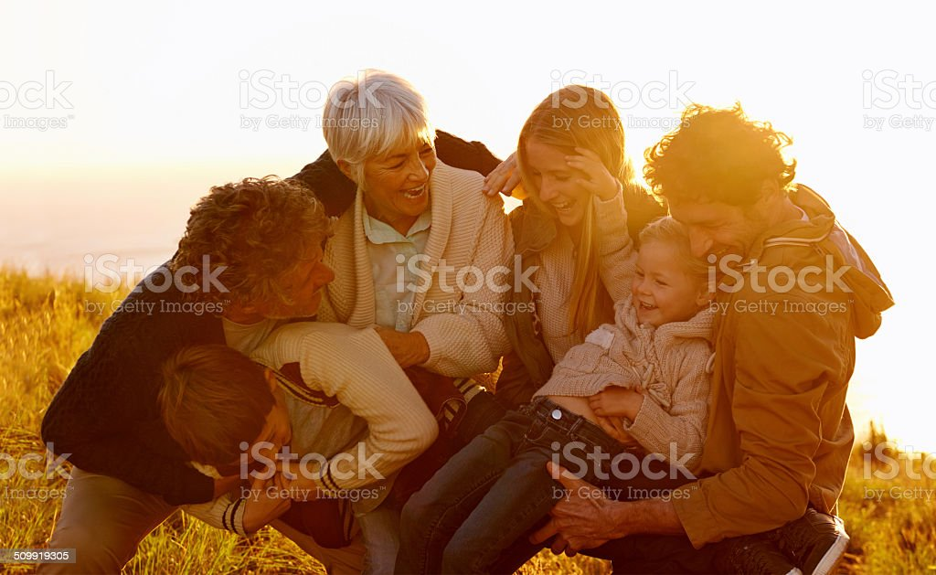 Having fun and making memories stock photo