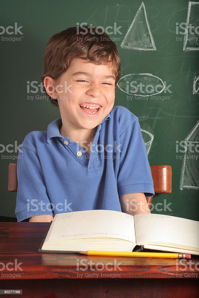 Having Fun At School royalty-free stock photo