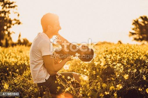 istock Having fun at the field 477881840