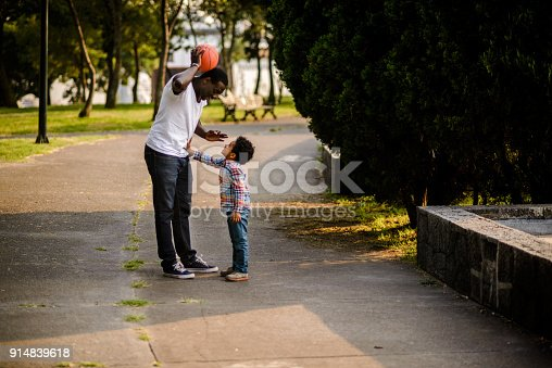 889172928istockphoto Having fun at the park. 914839618
