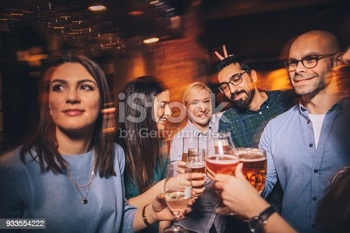 istock Having fun in night out 933554222