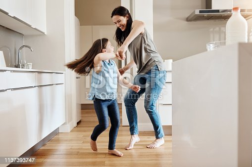 istock Having fun is the best way to bond 1137393747