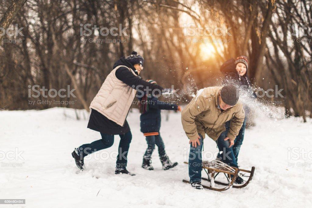S'amuser en plein air - Photo