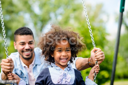 istock Having fun with daughter 891895918