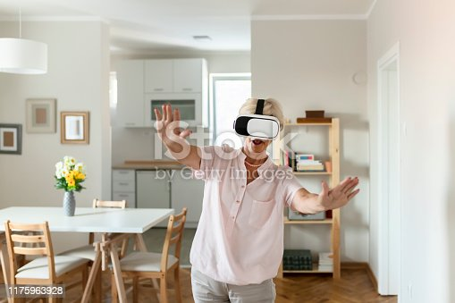 1053414472 istock photo Having some virtual fun 1175963928
