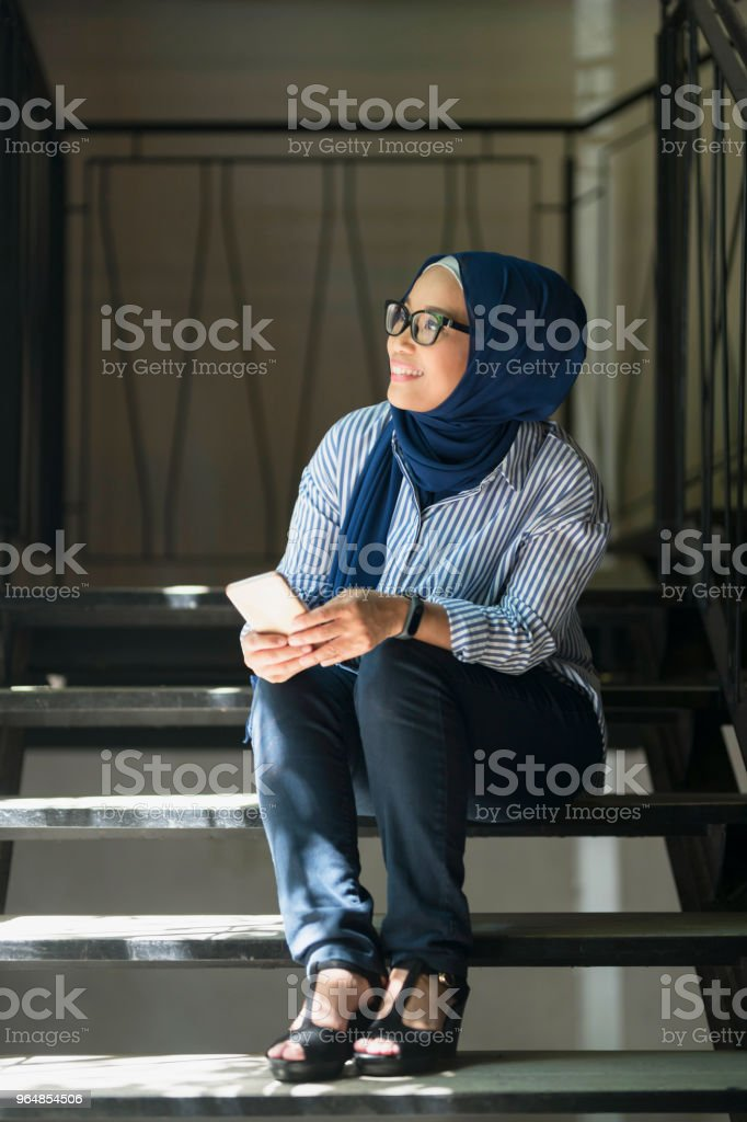 Having Someone Special On Mind royalty-free stock photo