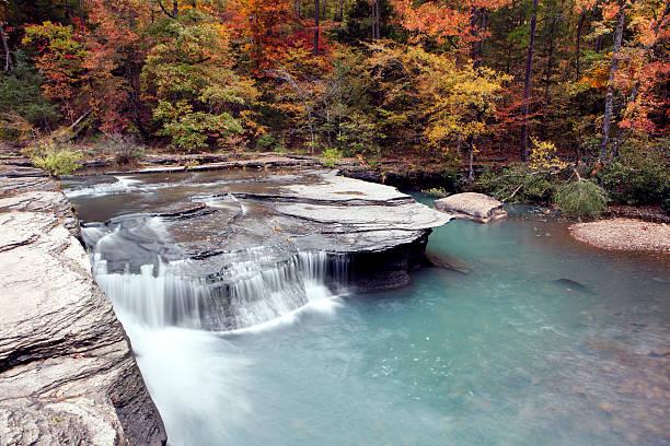 Haw Creek Waterfall stock photo
