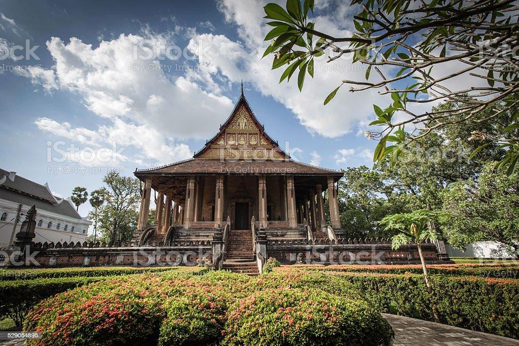 Haw Pha Kaeo, Vientiane, Laos stock photo