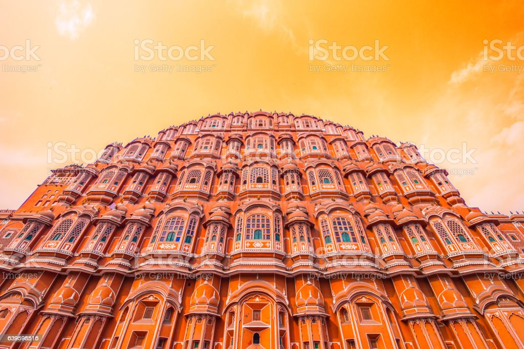 Hawa Mahal, Jaipur, India stock photo