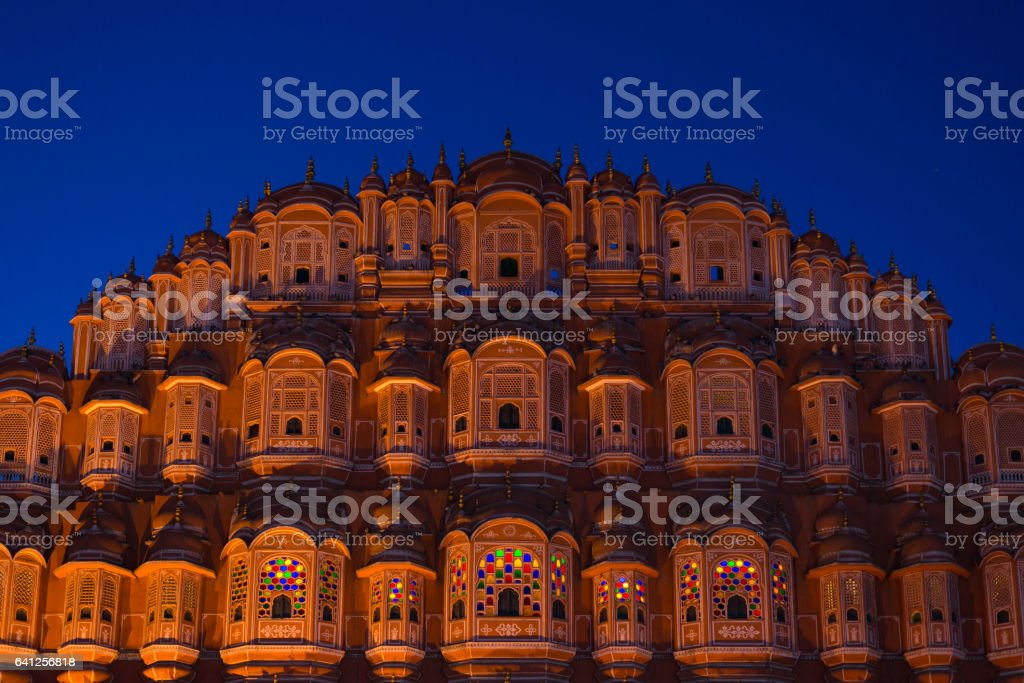 Hawa Mahal, Jaipur, Rajasthan, India stock photo