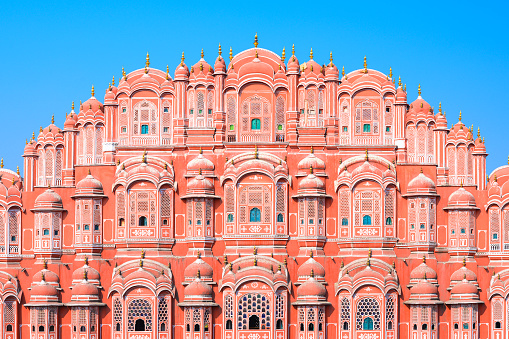 Hawa Mahal or Palace of the Winds in Jaipur, Rajasthan state, India