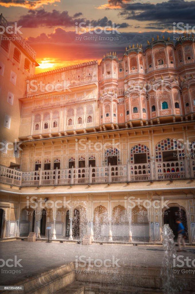 Hawa Mahal stock photo