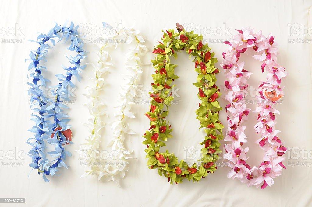 Hawaian lei stock photo