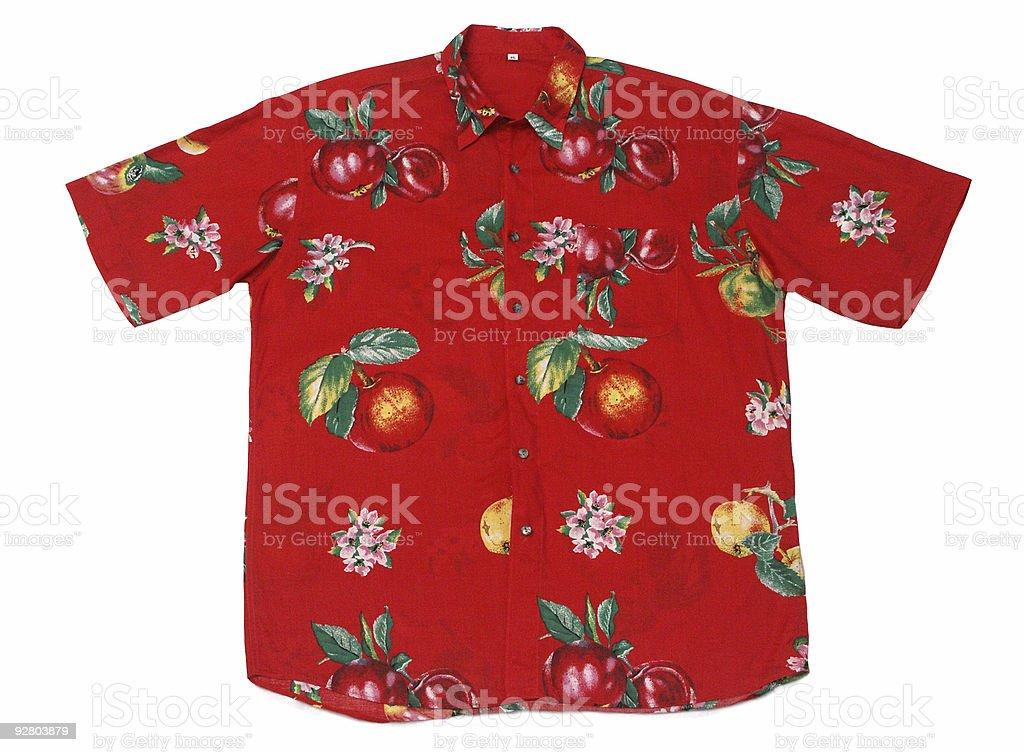 Hawaian Shirt royalty-free stock photo