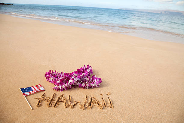 Hawaii Beach stock photo