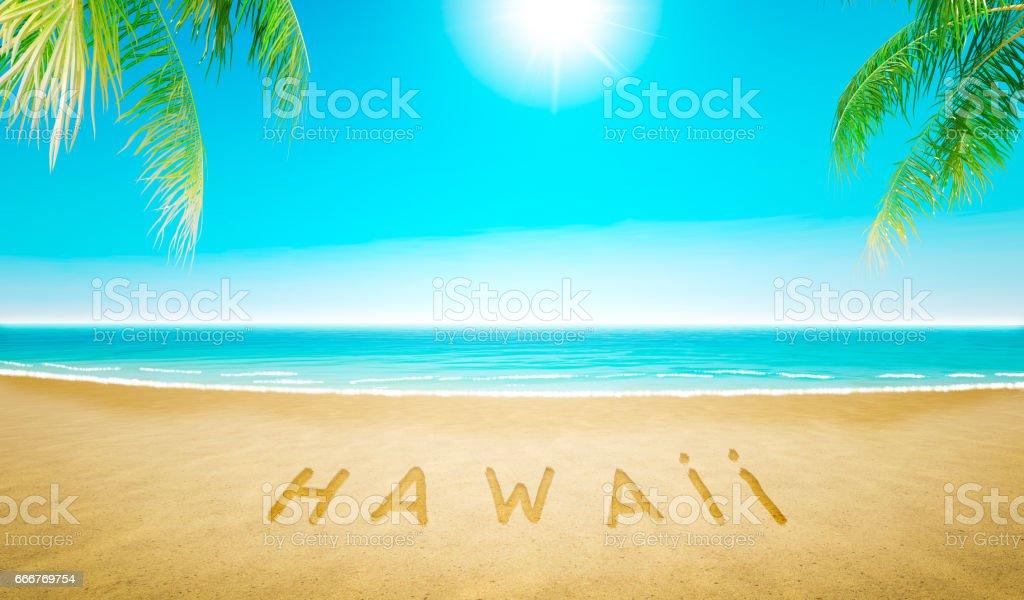Hawaii Beach foto stock royalty-free