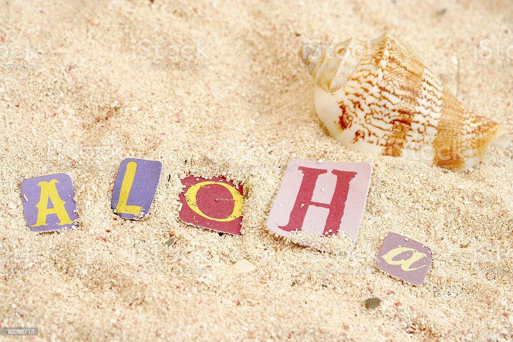 Playa de Hawaii - foto de stock