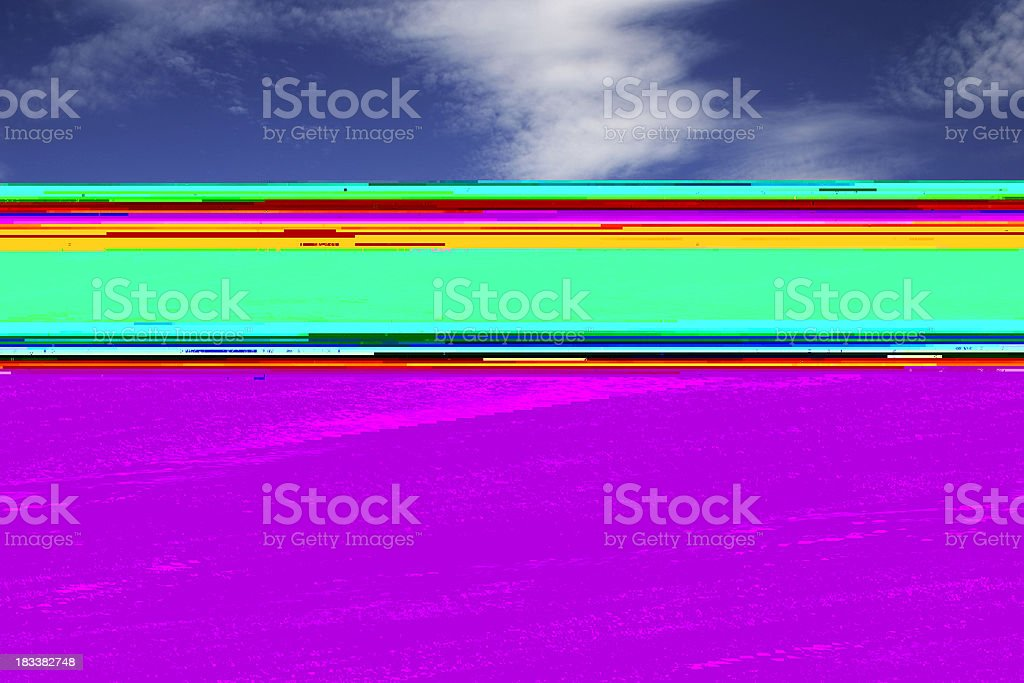 Hawaii: Big Wave stock photo