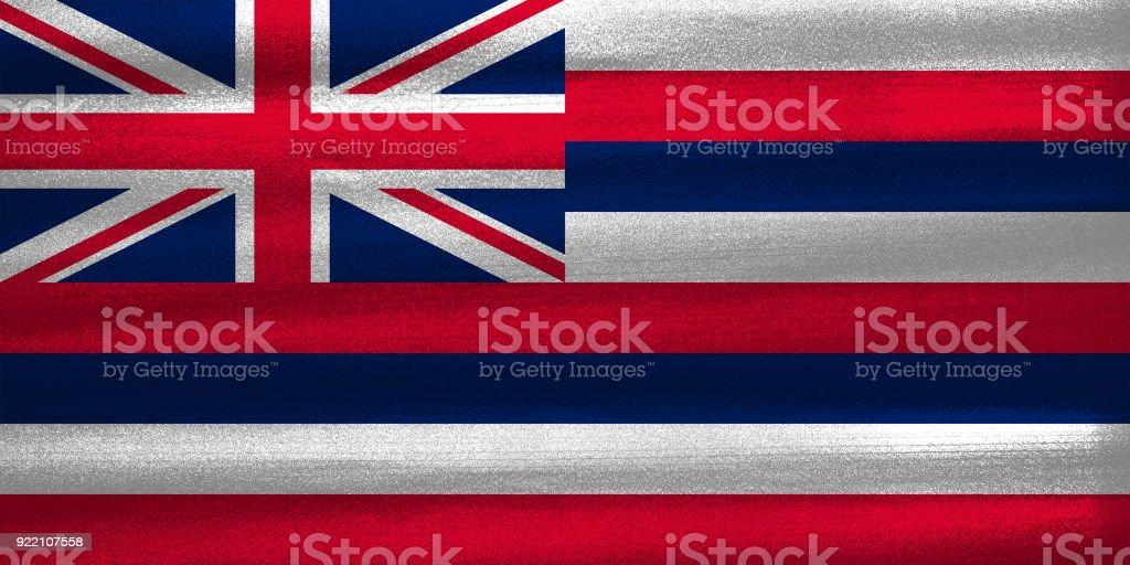 Bandeira do Havaí - foto de acervo