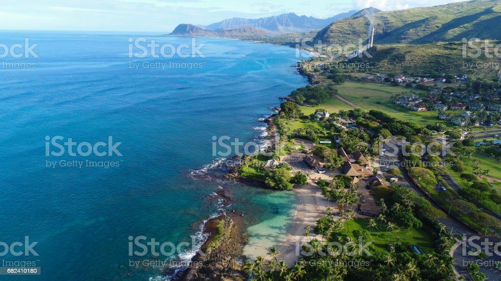 Hawaii, vue du ciel photo libre de droits