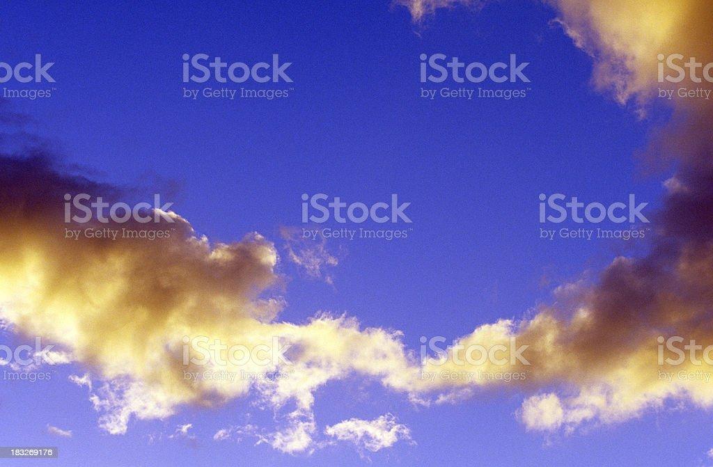 USA Hawaii O'ahu, North Shore, Clouds. royalty-free stock photo