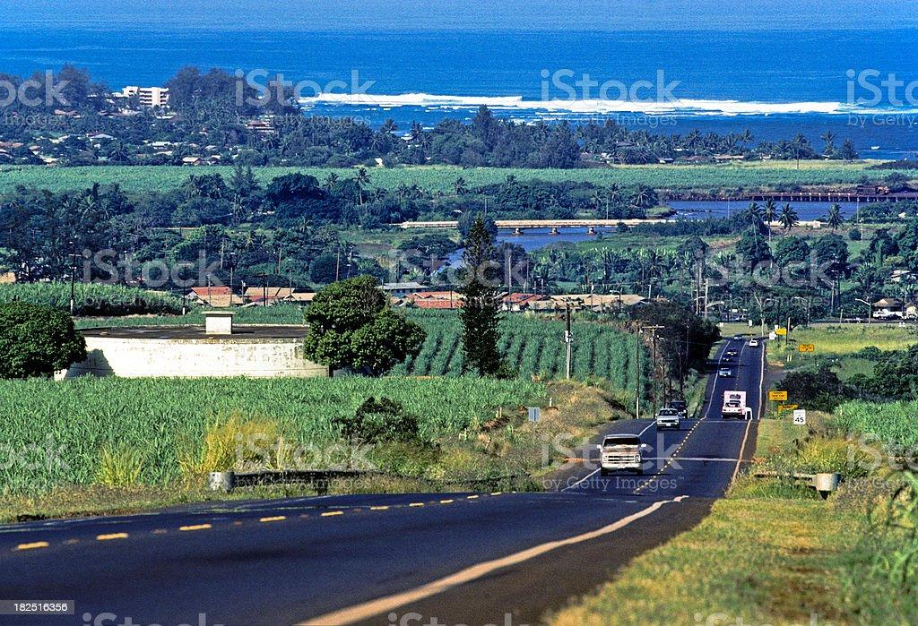 USA Hawaii O'ahu, North Shore. royalty-free stock photo
