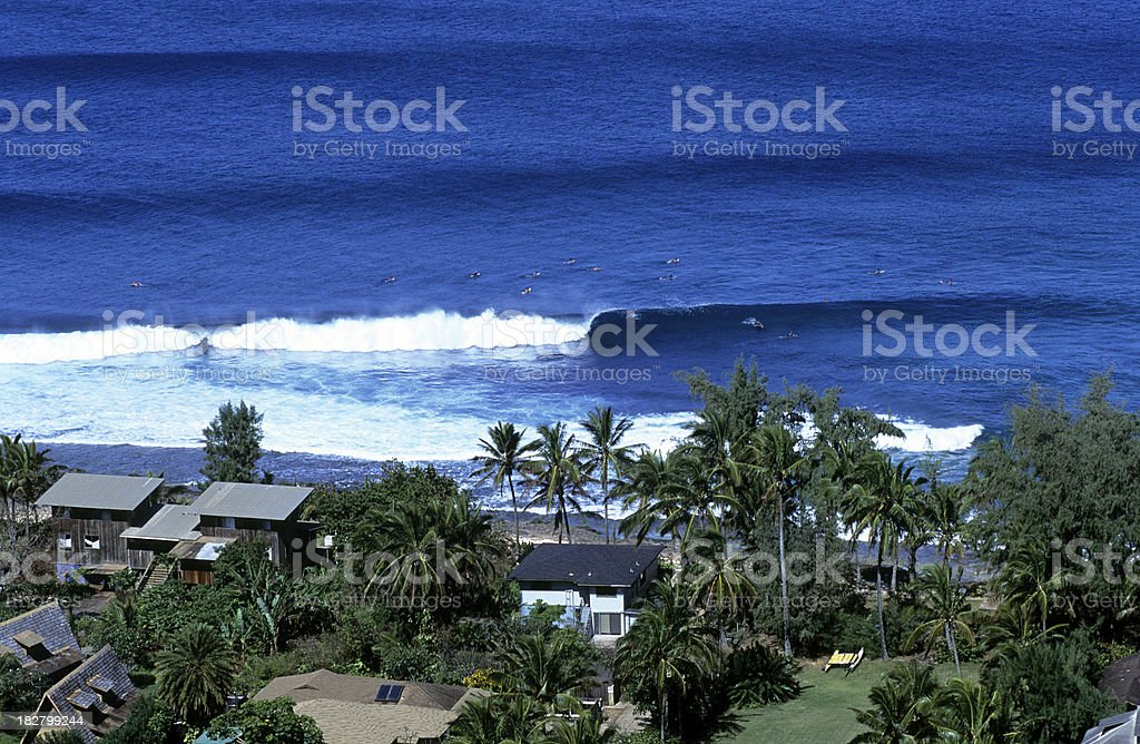 USA Hawaii O'ahu, North Shore. royalty-free stock photo