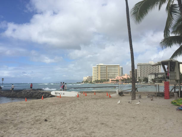 Hawaii Oahu stock photo