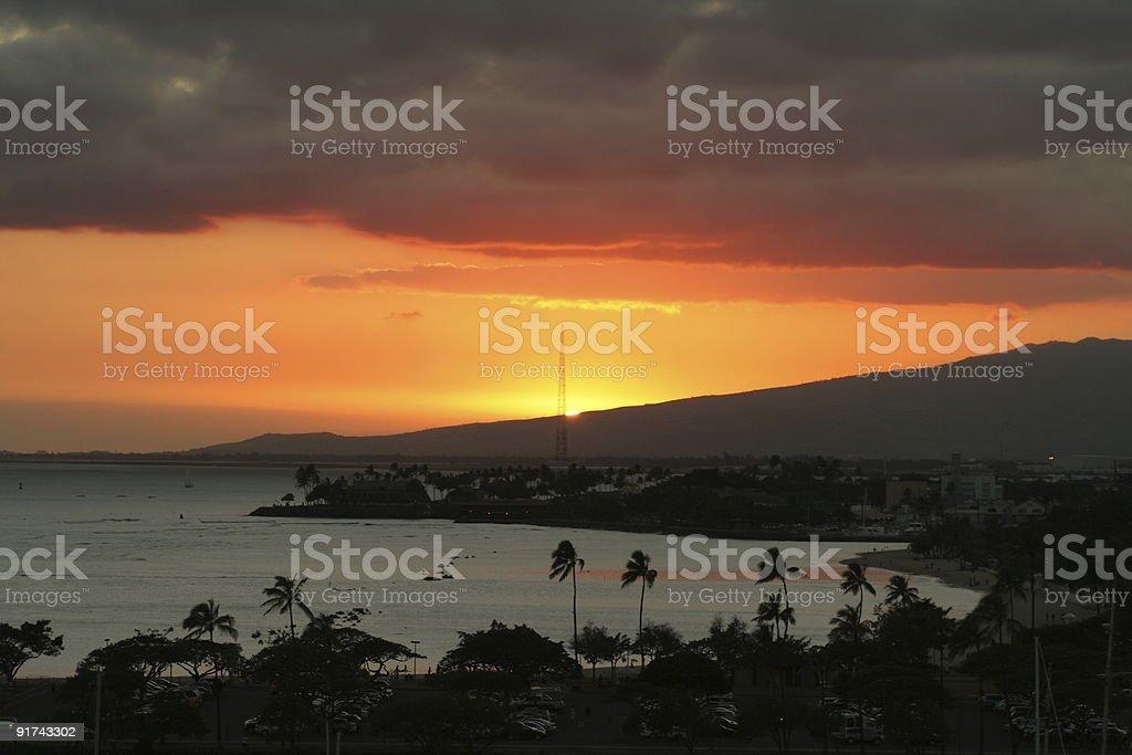 Hawaii: Oahu royalty-free stock photo