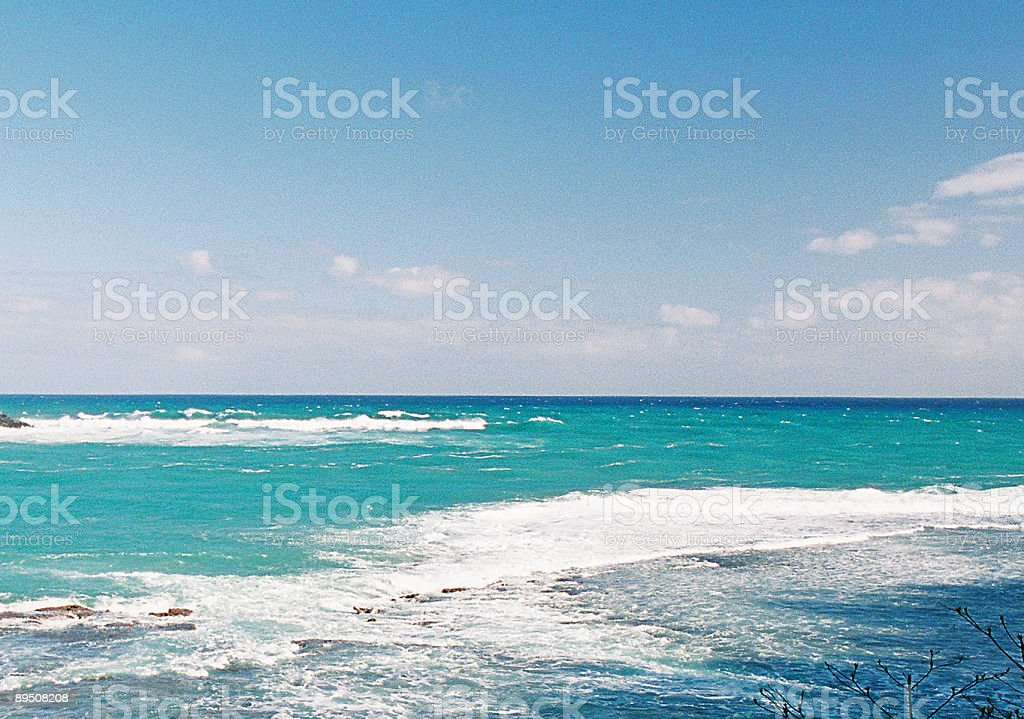 Hawaii Pacific ocean bay royalty-free stock photo