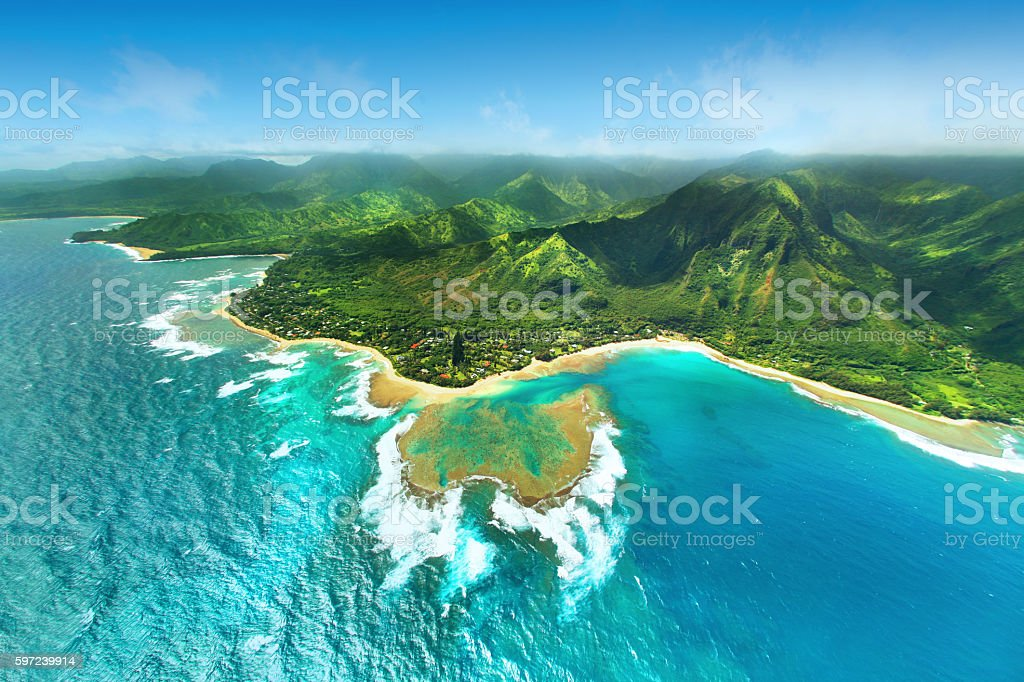 Hawaii stock photo