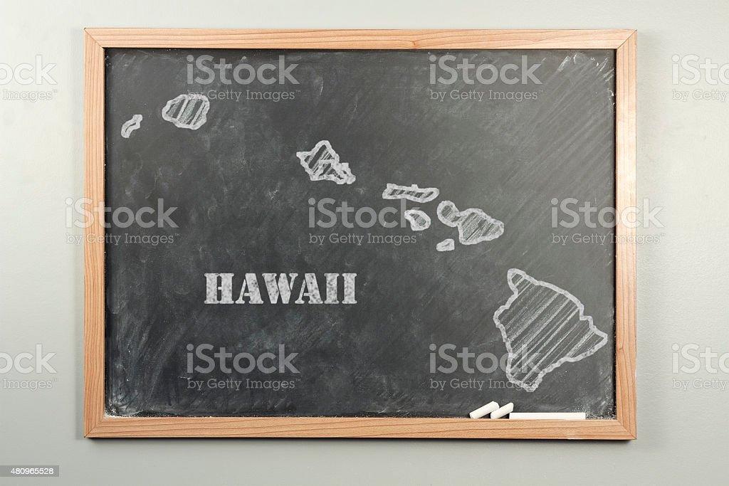 Hawaii State stock photo