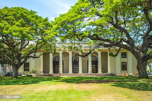 Hawaii State Public Library at Honolulu, Oahu