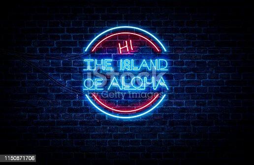 istock Hawaii the island of ALOHA 1150871706