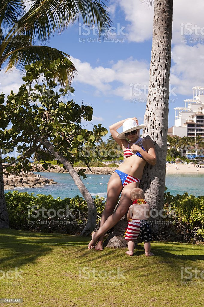 Hawaii vacation royalty-free stock photo