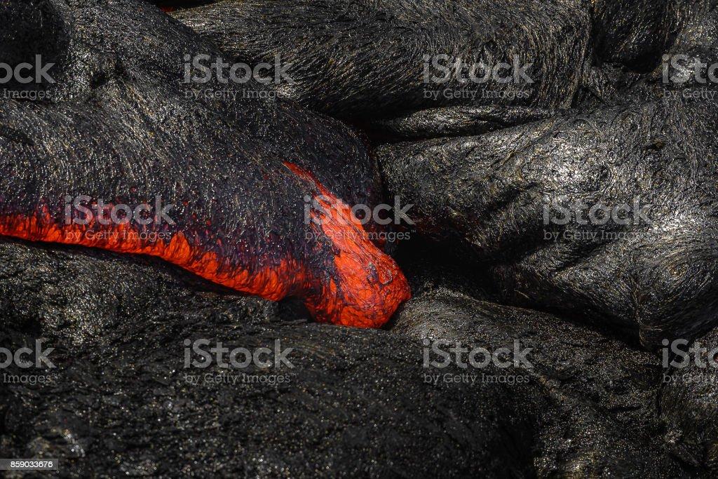 Hawaii volcanoes National Park stock photo