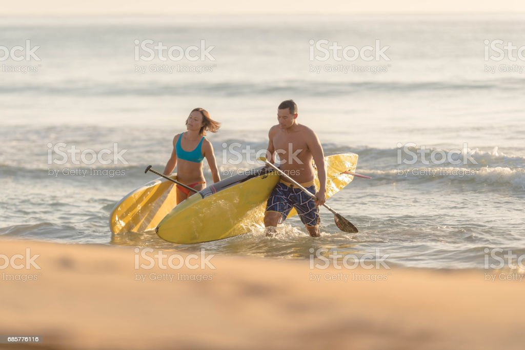 Hawaiian Beach Life royalty-free stock photo