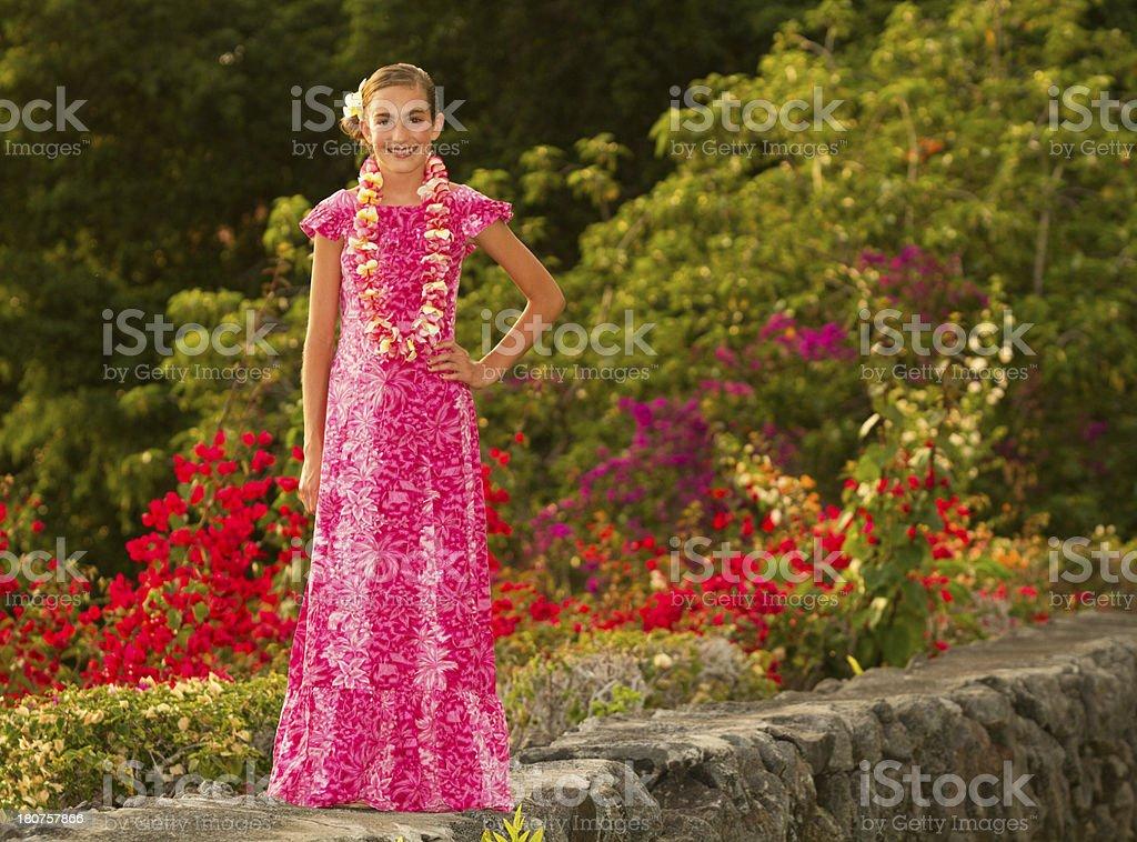 Hawaiian Beauty royalty-free stock photo