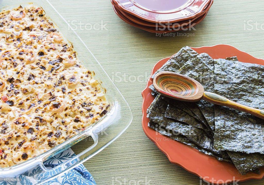 Hawaiian Broiled Sushi royalty-free stock photo