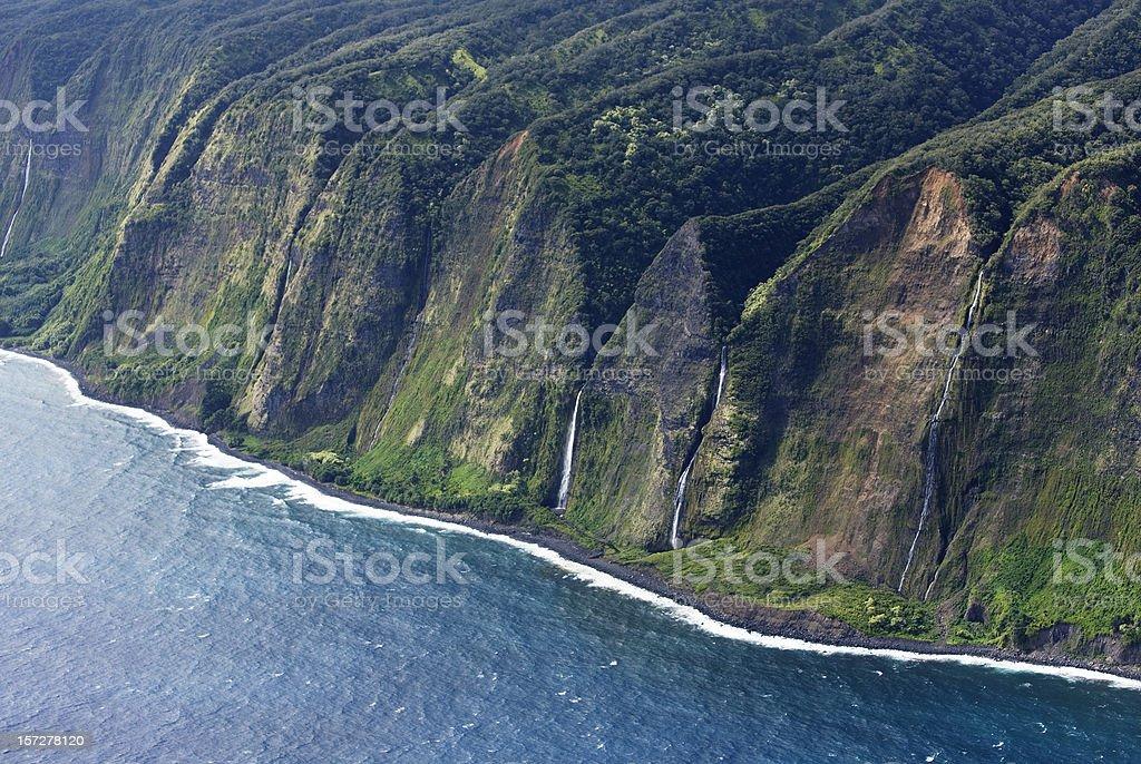 Hawai`ian Coastline stock photo