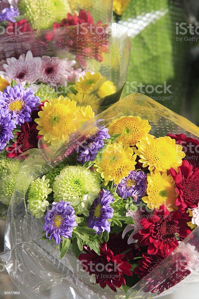 Hawaiian Flower Bouquets royalty-free stock photo