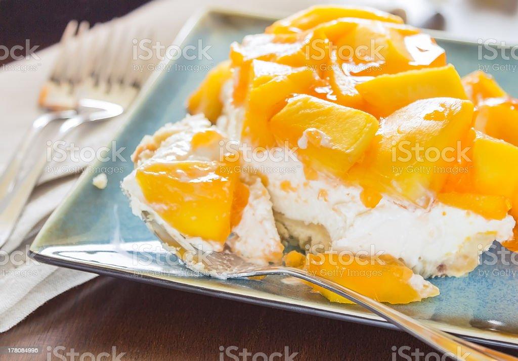 Hawaiian Mango Jello Cheesecake Stock Photo 178084996 Istock