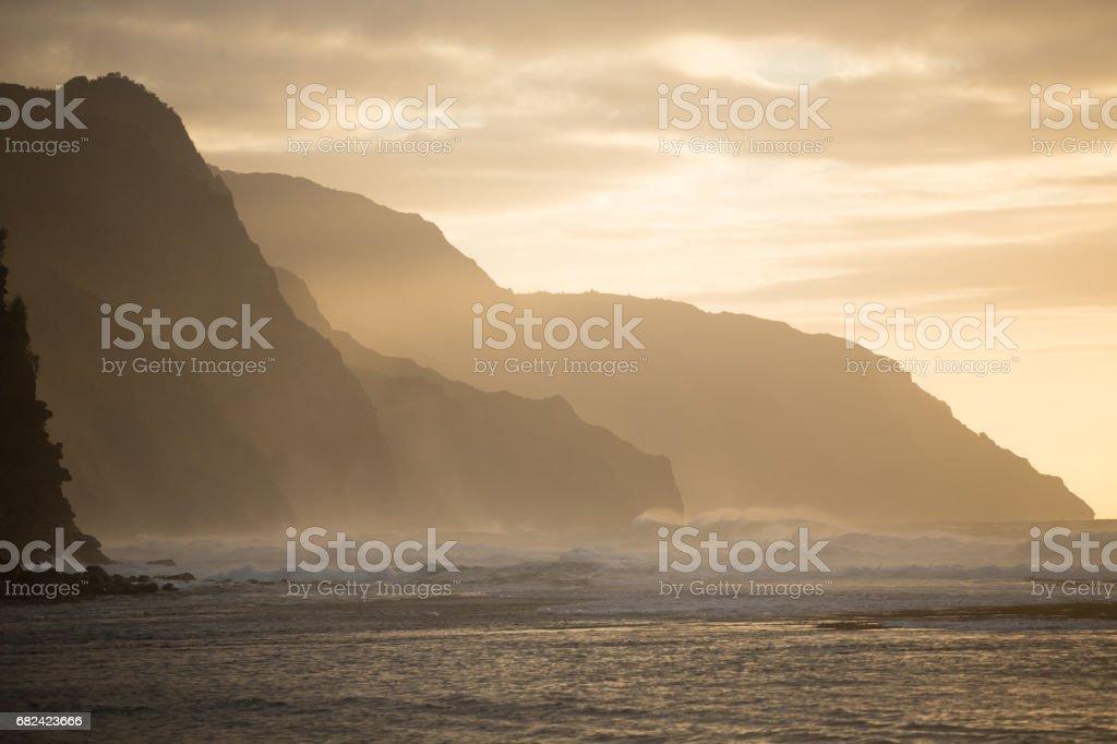 Hawaiian Seascape stock photo