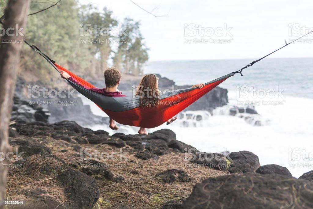 Hawaiian Siesta foto stock royalty-free