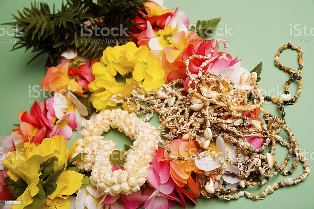 Hawaiian Souvenirs royalty-free stock photo