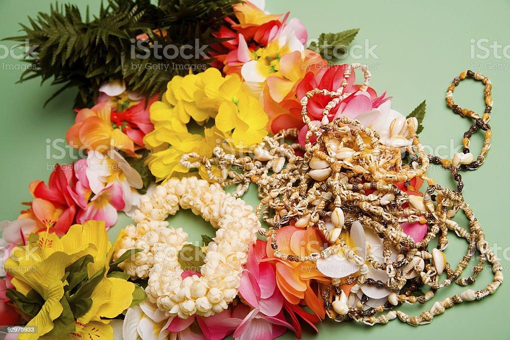 Hawaiian Souvenirs stock photo