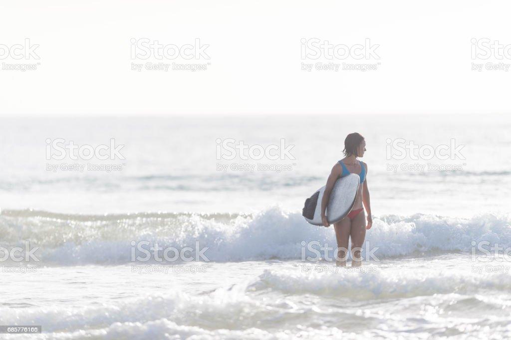 Hawaiian Surf Life photo libre de droits