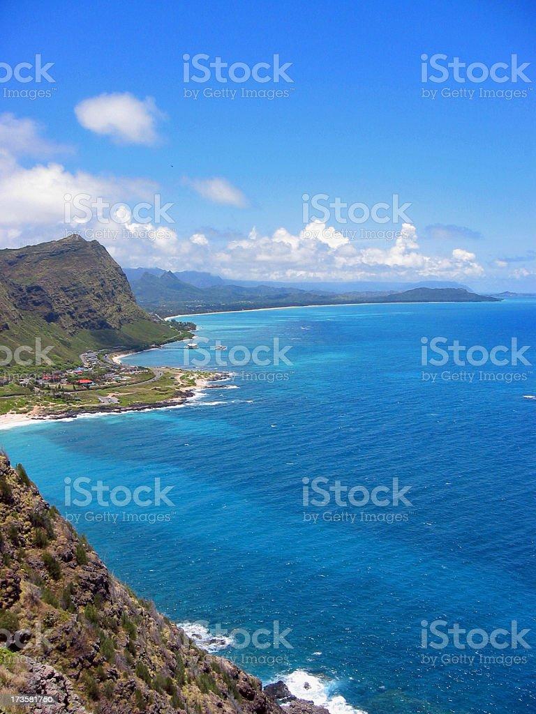 Hawaiian View royalty-free stock photo