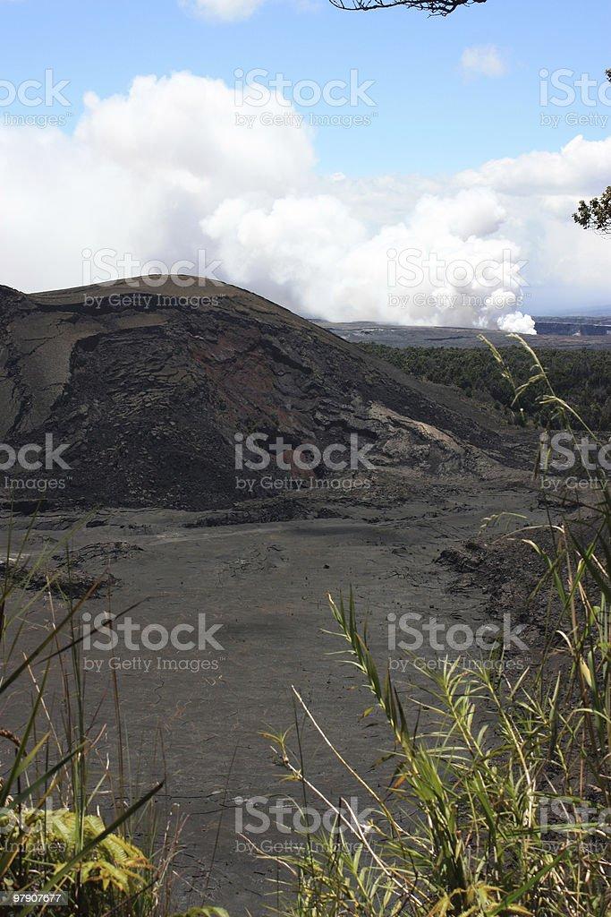 Hawaiian Volcanoes royalty-free stock photo