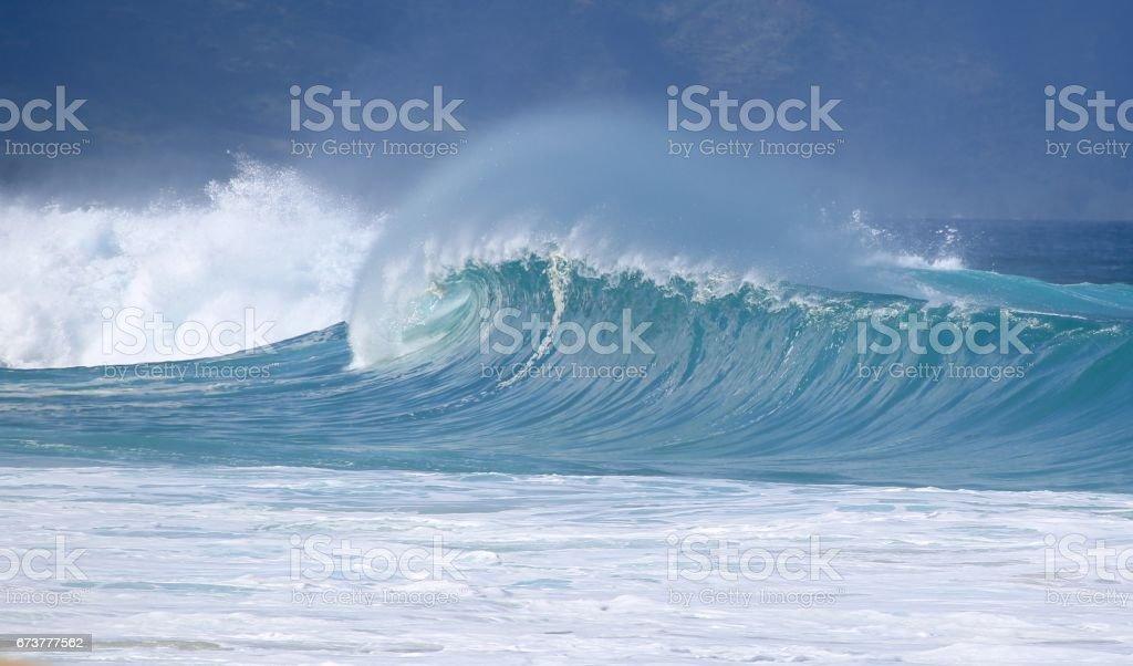 Hawaiian Winter Waves photo libre de droits